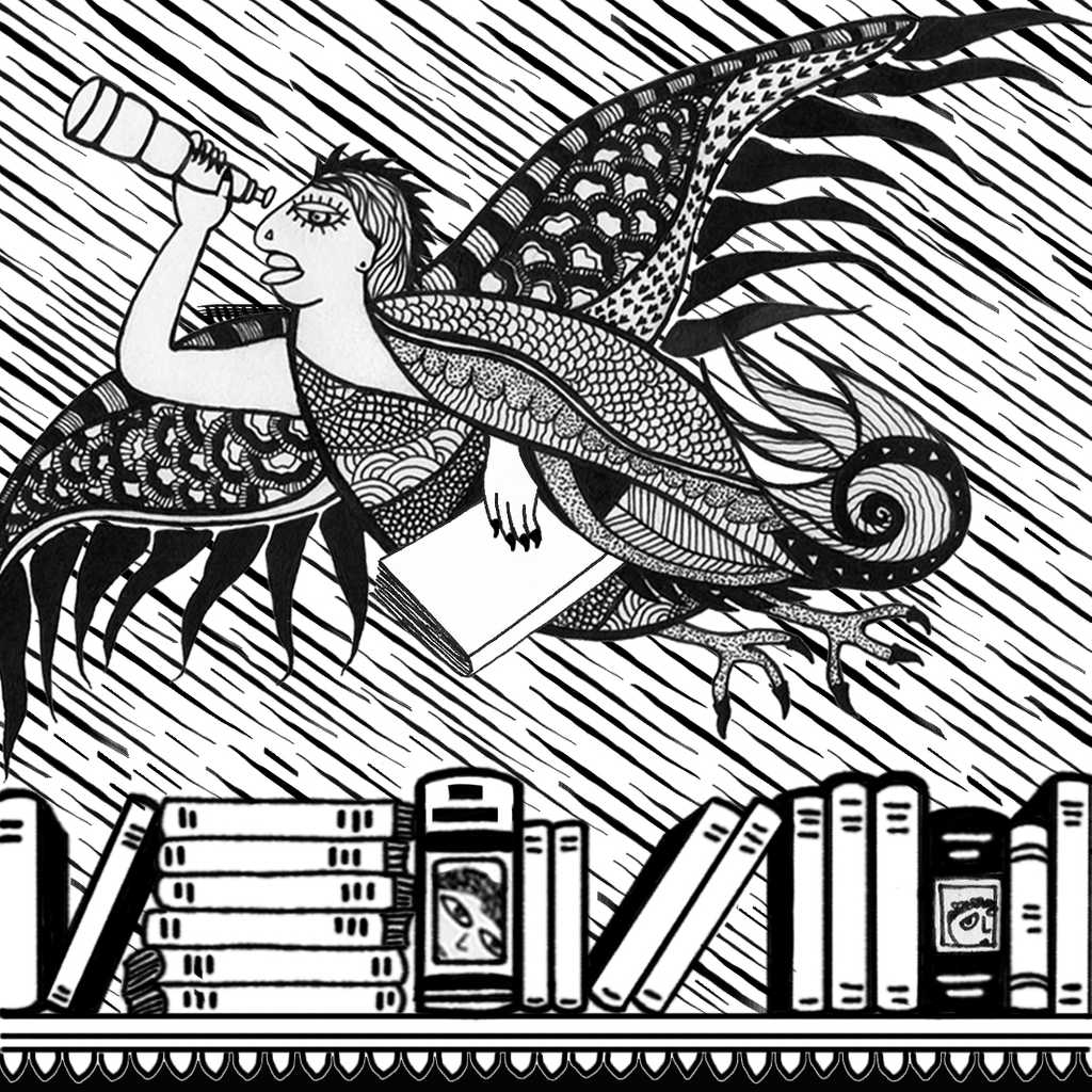 books bird woman bg 2